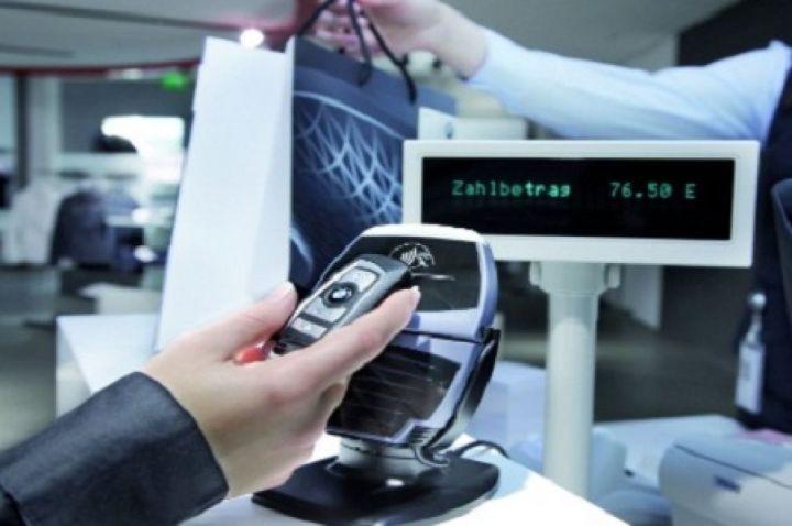 Un Pos abilitato per i pagamenti contactless