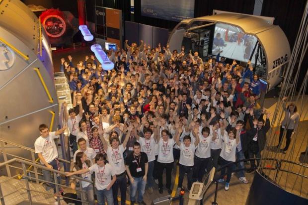 Gli studenti europei all'ESA